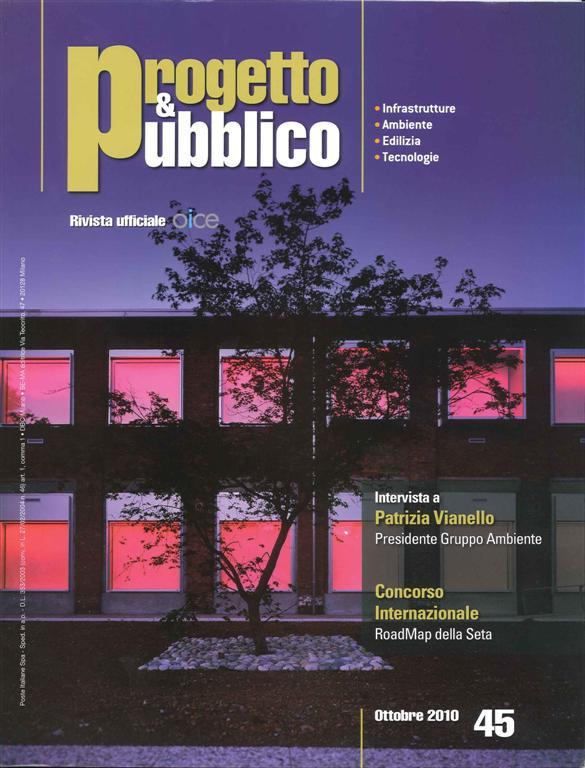 Ori arienti paesaggio e architettura for Riviste di architettura italiane